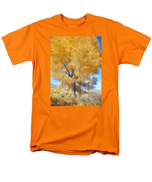Orange Serenade Men's T-Shirt  (Regular Fit) by Marilyn Diaz
