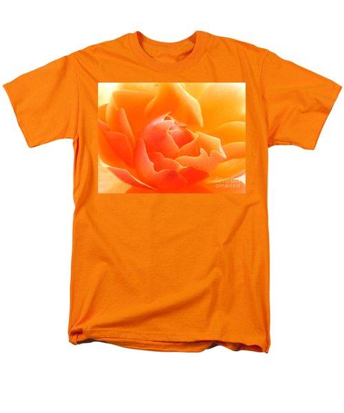 Orange Sherbet Men's T-Shirt  (Regular Fit) by Deb Halloran