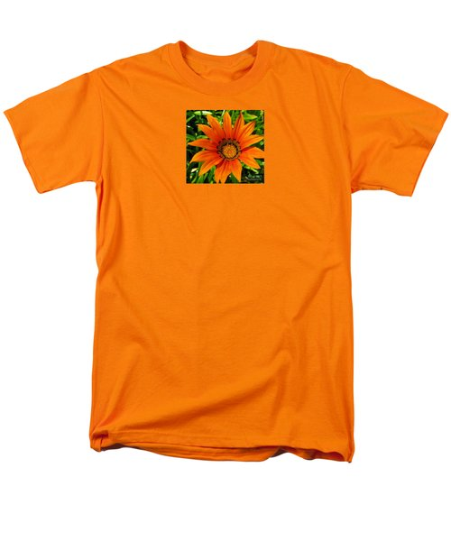 Men's T-Shirt  (Regular Fit) featuring the photograph Orange Sunshine by Janice Westerberg