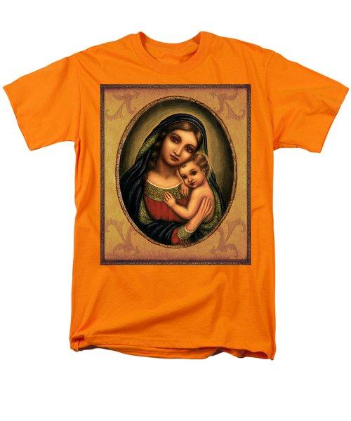 Oval Madonna  Men's T-Shirt  (Regular Fit) by Ananda Vdovic