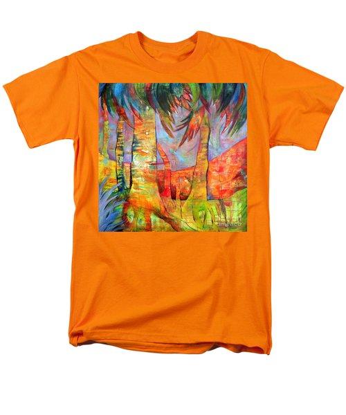 Palm Jungle Men's T-Shirt  (Regular Fit) by Elizabeth Fontaine-Barr