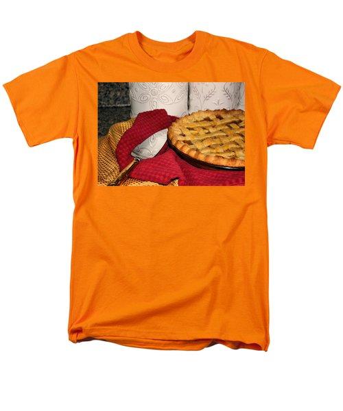 Men's T-Shirt  (Regular Fit) featuring the photograph Peach Pie by Kristin Elmquist