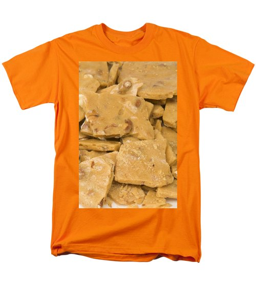 Peanut Brittle Closeup Men's T-Shirt  (Regular Fit) by Vizual Studio
