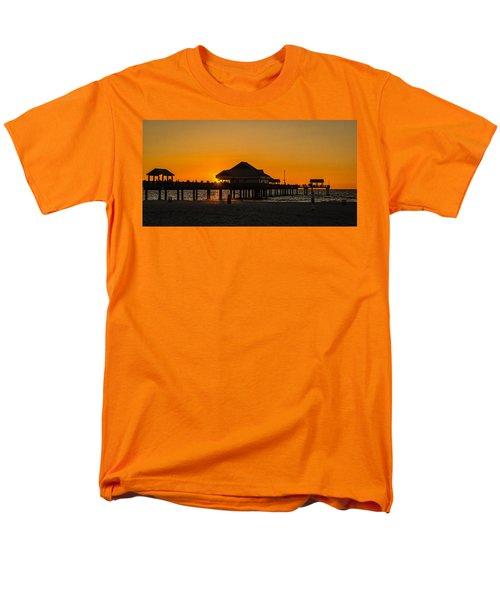 Pier 60 Sunset Men's T-Shirt  (Regular Fit) by Jane Luxton