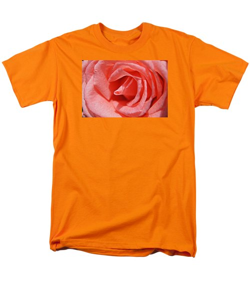 Men's T-Shirt  (Regular Fit) featuring the photograph Pink Rose by Kathy Churchman