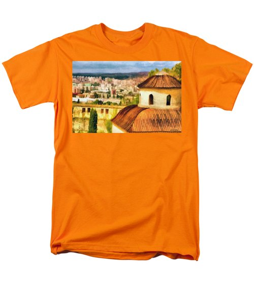 Pious Witness To The Passage Of Time Men's T-Shirt  (Regular Fit) by Jeff Kolker