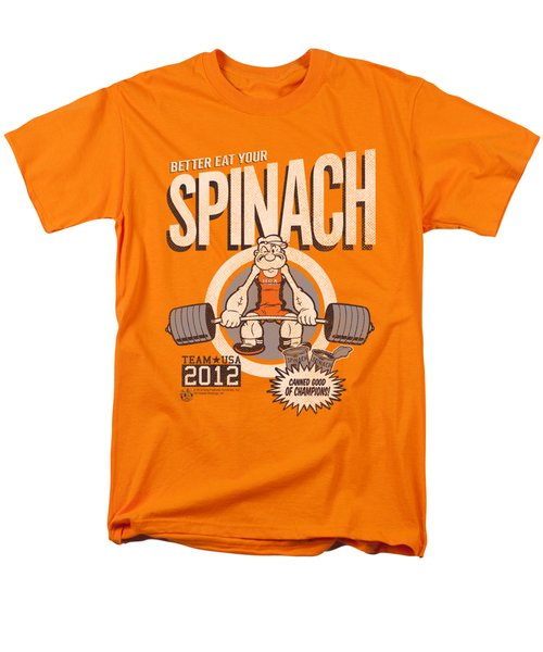 Popeye - Eat Your Spinach Men's T-Shirt  (Regular Fit) by Brand A