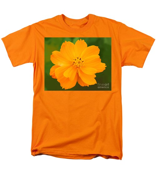 Men's T-Shirt  (Regular Fit) featuring the photograph Pretty In Orange by Mariarosa Rockefeller