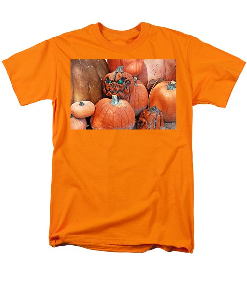 Pumpkin Patch Men's T-Shirt  (Regular Fit) by Aimee L Maher Photography and Art Visit ALMGallerydotcom