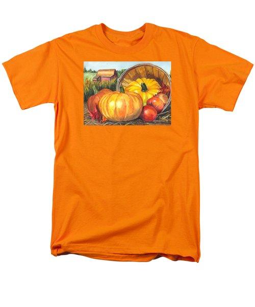 Pumpkin Pickin Men's T-Shirt  (Regular Fit) by Carol Wisniewski