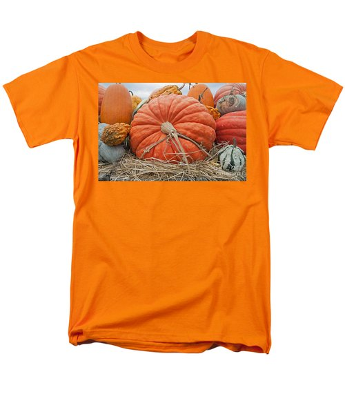Pumpkin Times Men's T-Shirt  (Regular Fit) by Minnie Lippiatt