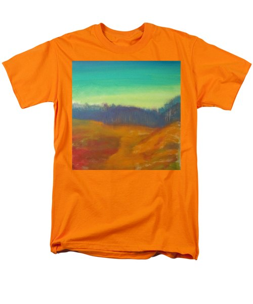 Men's T-Shirt  (Regular Fit) featuring the painting Quiet by Keith Thue