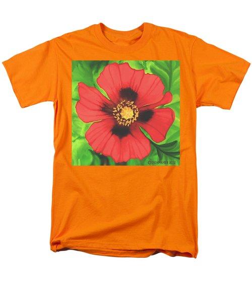 Red Poppy Men's T-Shirt  (Regular Fit) by Sophia Schmierer
