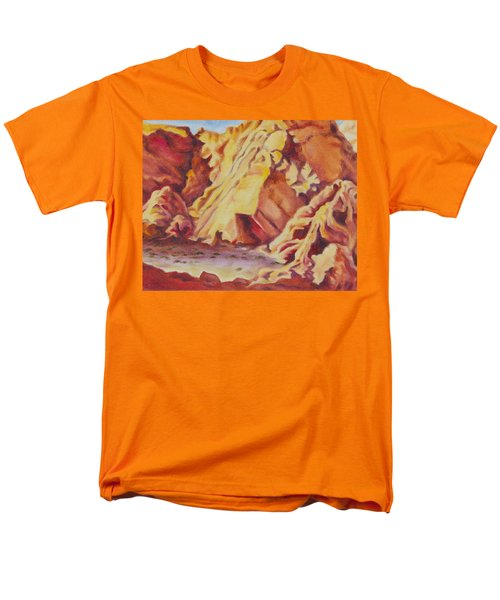 Red Rocks Men's T-Shirt  (Regular Fit) by Michele Myers