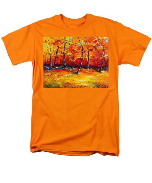 Men's T-Shirt  (Regular Fit) featuring the painting Resting In Your Shadow by Meaghan Troup