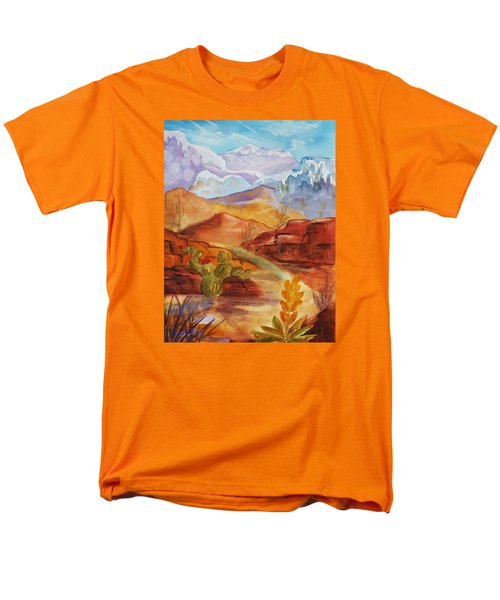 Road To Nowhere Men's T-Shirt  (Regular Fit) by Ellen Levinson
