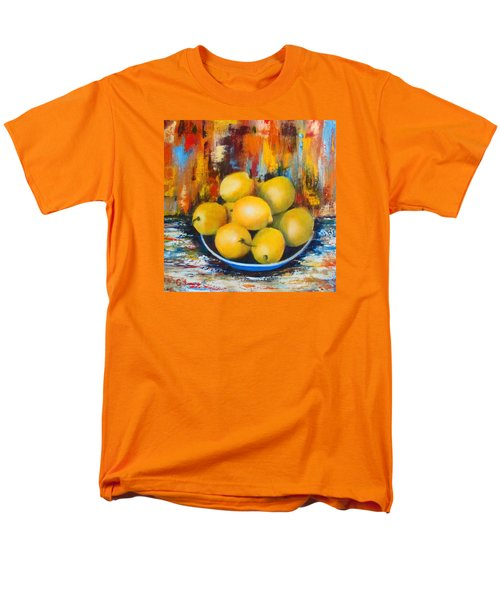 Men's T-Shirt  (Regular Fit) featuring the painting Rosie's Harvest by Roseann Gilmore