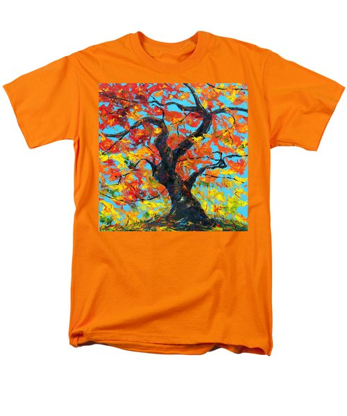 Men's T-Shirt  (Regular Fit) featuring the painting Safely Abiding by Meaghan Troup