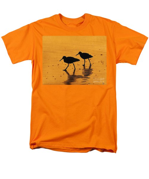 Sandpipers - At - Sunrise Men's T-Shirt  (Regular Fit) by D Hackett