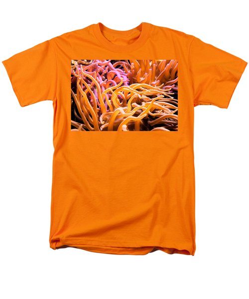 Sea Anemone  Men's T-Shirt  (Regular Fit) by Swank Photography