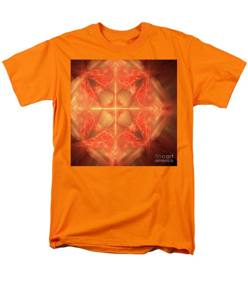 Men's T-Shirt  (Regular Fit) featuring the digital art Shield Of Faith by Margie Chapman