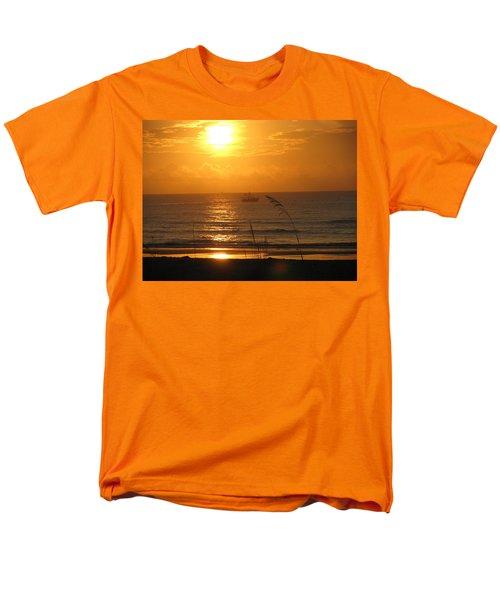 Shrimp Boat Sunrise Men's T-Shirt  (Regular Fit) by Ellen Meakin