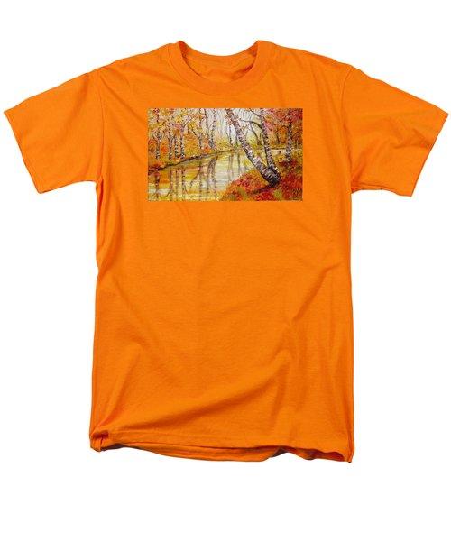 Silence Men's T-Shirt  (Regular Fit) by Nina Mitkova