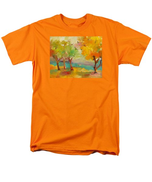 Soft Trees Men's T-Shirt  (Regular Fit) by Michelle Abrams