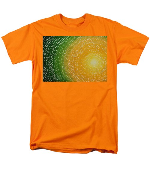 Spring Sun Original Painting Men's T-Shirt  (Regular Fit) by Sol Luckman
