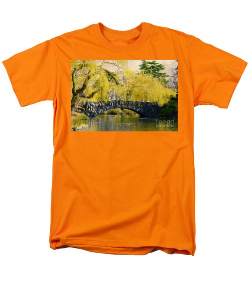 Springtime In Victoria Men's T-Shirt  (Regular Fit) by Marilyn Wilson