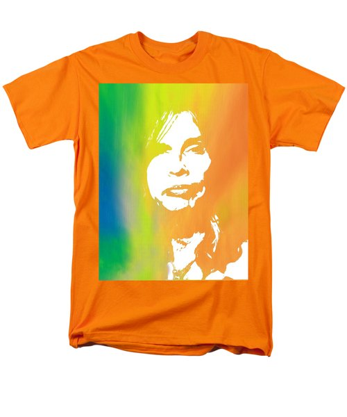 Steven Tyler Men's T-Shirt  (Regular Fit) by Dan Sproul