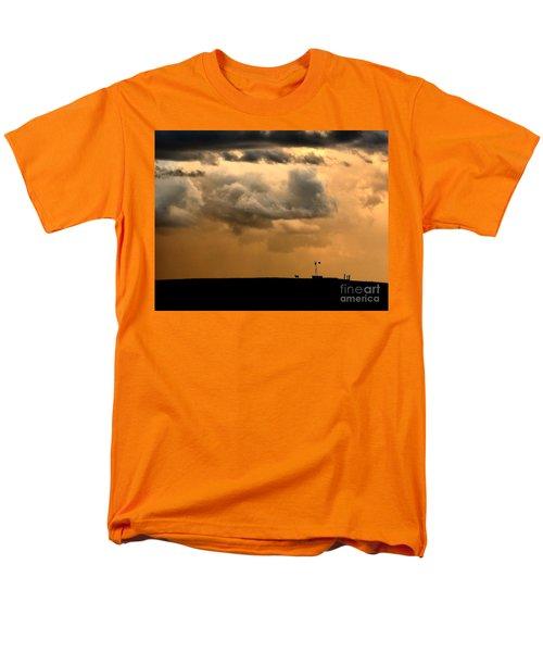 Storm's A Brewing Men's T-Shirt  (Regular Fit) by Steven Reed