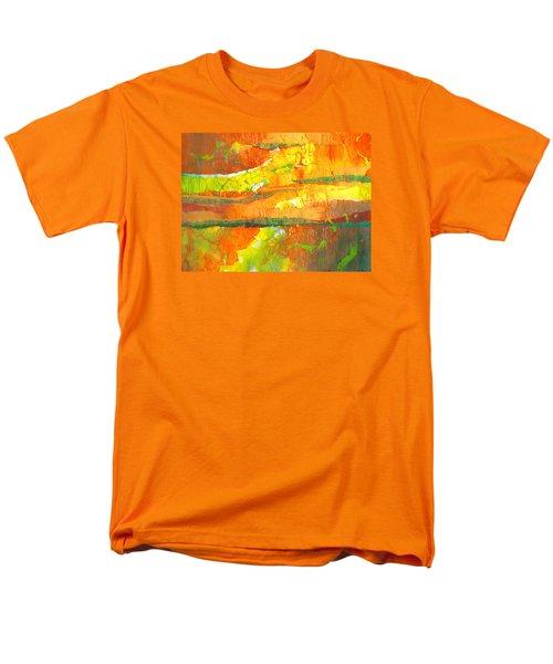 Strata Men's T-Shirt  (Regular Fit) by Lynda Hoffman-Snodgrass