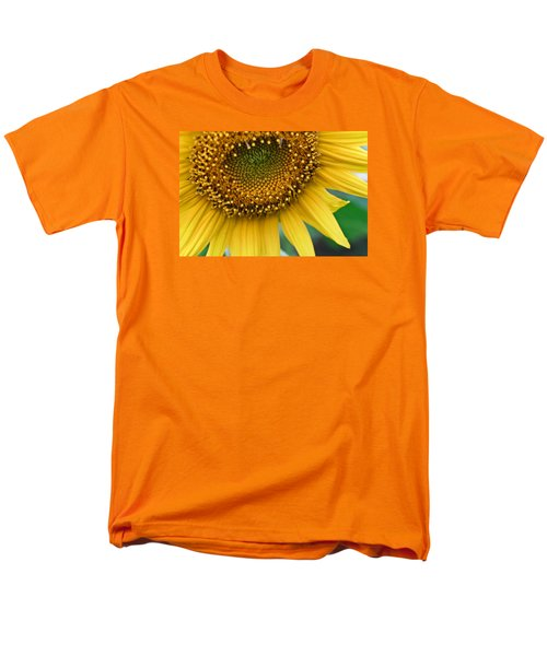 Sunflower Smiles Men's T-Shirt  (Regular Fit) by Julie Andel