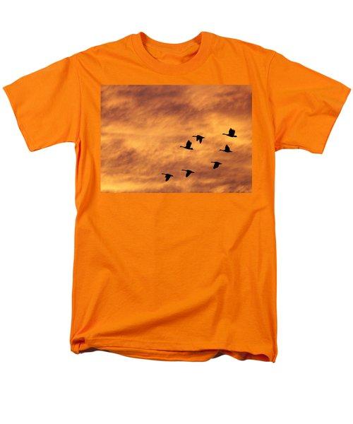 Sunrise Flight 2 Men's T-Shirt  (Regular Fit) by Diane Alexander