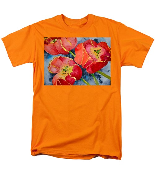 Supta Vajrasana Men's T-Shirt  (Regular Fit) by Beverley Harper Tinsley