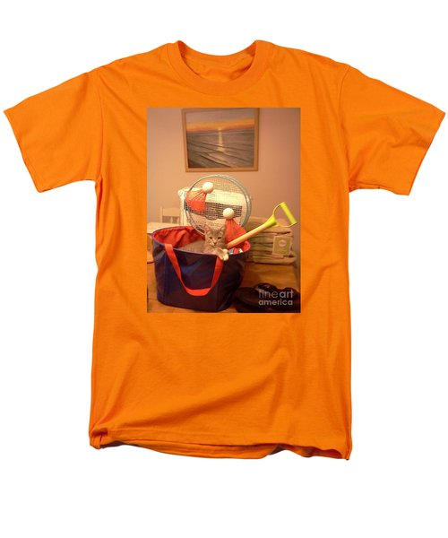 Take Me To The Beach Men's T-Shirt  (Regular Fit) by Stacy C Bottoms