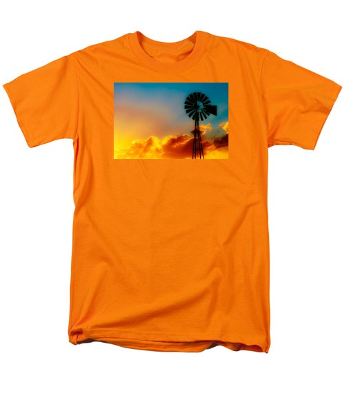 Men's T-Shirt  (Regular Fit) featuring the photograph Texas Sunrise by Darryl Dalton