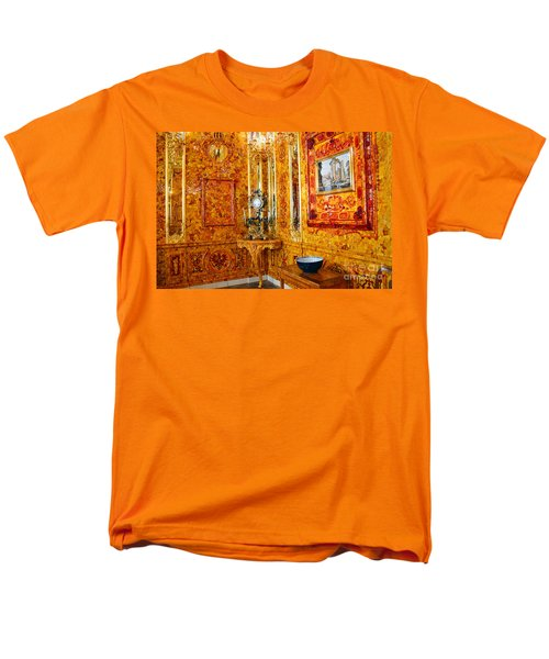 The Amber Room At Catherine Palace Men's T-Shirt  (Regular Fit)