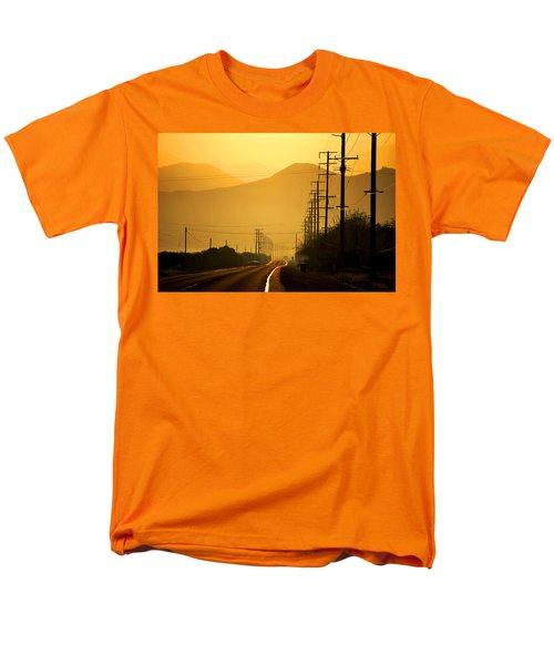 The Golden Road Men's T-Shirt  (Regular Fit) by Matt Harang