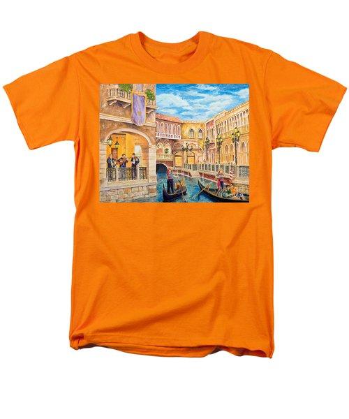 The Venetian Canal  Men's T-Shirt  (Regular Fit)