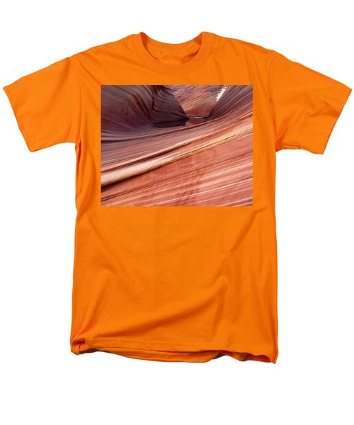 'the Wave' North Coyote Buttes 62 Men's T-Shirt  (Regular Fit)