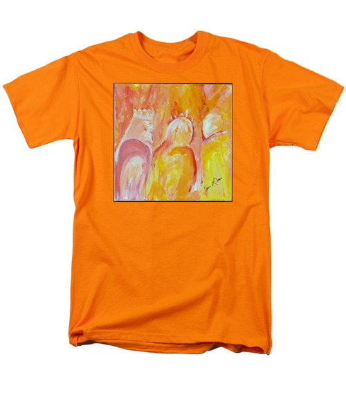 Men's T-Shirt  (Regular Fit) featuring the painting there I AM by Cassie Sears