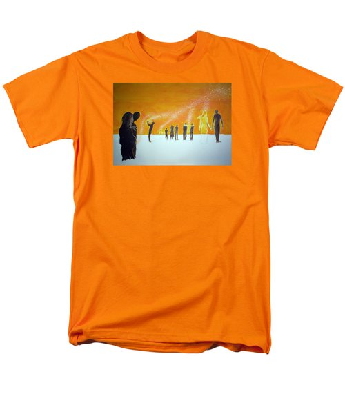 Those Who Left Early Men's T-Shirt  (Regular Fit) by Lazaro Hurtado