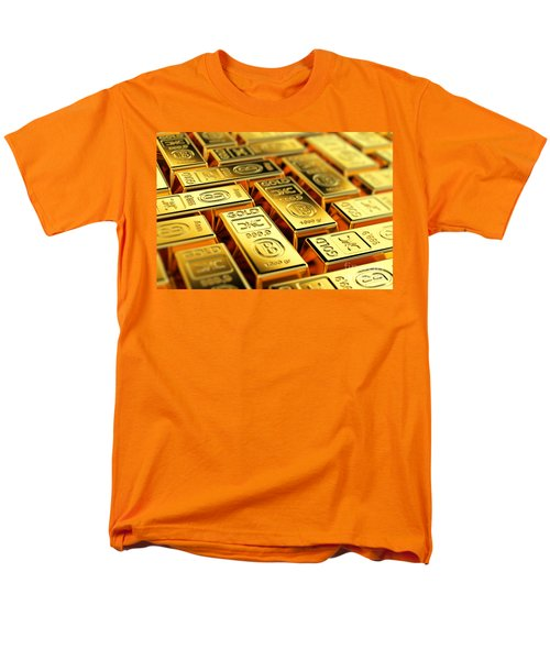 Tons Of Gold Men's T-Shirt  (Regular Fit) by Carsten Reisinger