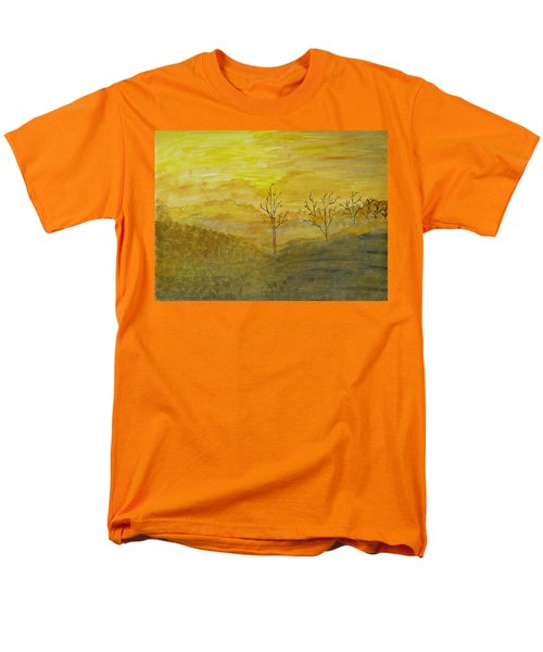 Touch Of Gold Men's T-Shirt  (Regular Fit) by Sonali Gangane