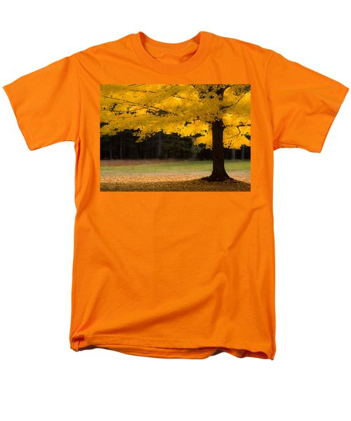 Tree Canopy Glowing In The Morning Sun Men's T-Shirt  (Regular Fit) by Jeff Folger