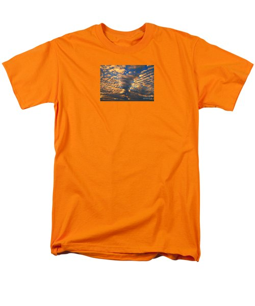 Men's T-Shirt  (Regular Fit) featuring the photograph Twisted Sunset by Janice Westerberg