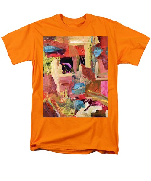 Untitled Abstract Men's T-Shirt  (Regular Fit) by Erika Pochybova