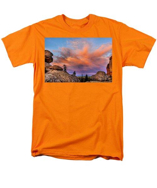 Vedauwoo Sunrise Men's T-Shirt  (Regular Fit) by Steven Reed